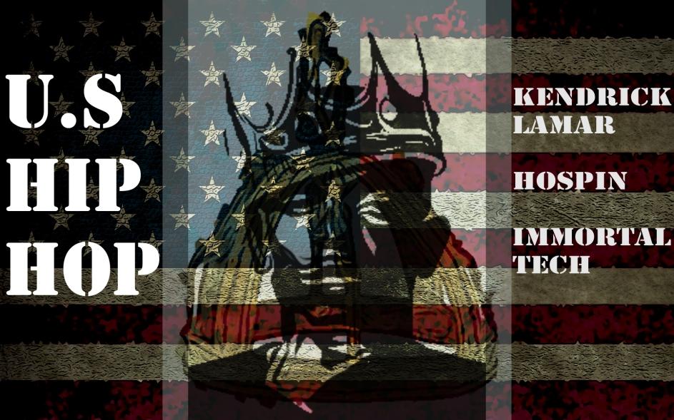 US Hip Hop Flag Kendrick